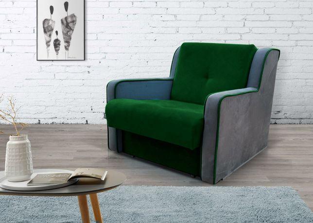 fotel rozkładany amerykanka łóżko 1-os INES dla dziecka kanapa sofa