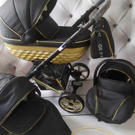 Wózek 3w1 Adbor OXV 3D NOWY