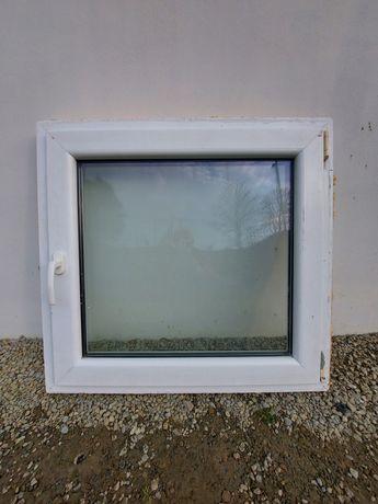 Okno białe 90x85 / otwierane / uchylane