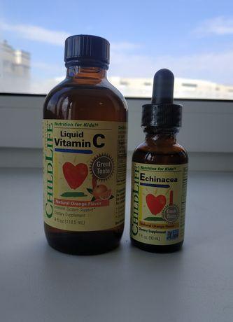 Новый витамин С от Childlife, iherb