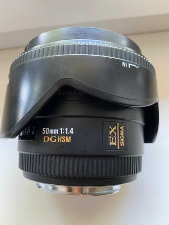 Sigma 50 1.4 на систему Canon