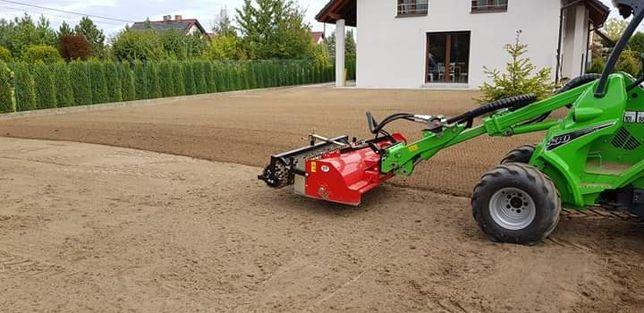 Zakładanie trawników,usługi glebogryzarką separacyjną