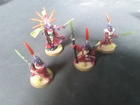 Warhammer Craftworlds / Eldar Farseer and Warlocks