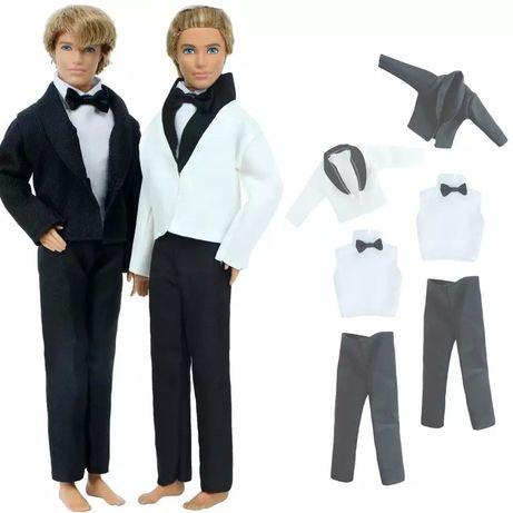Nowy garnitur dla Kena od lalki Barbie
