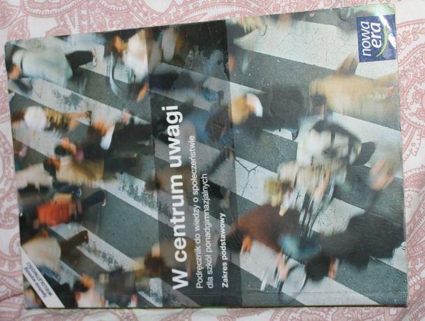 """Podręcznik WOS- ''W centrum uwagi""""- WSIP"""