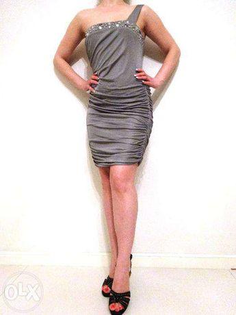 Платье коктейльное вечернее нарядное Shi4.Италия.размер 36-38
