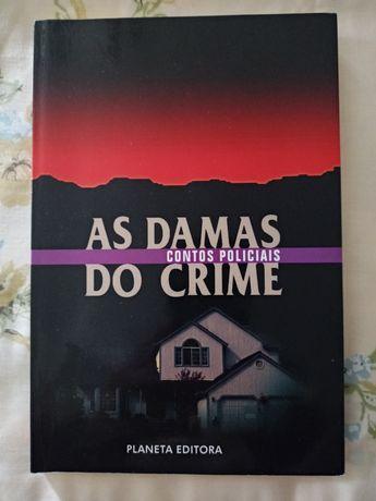 "Livro""As Damas do crime"""