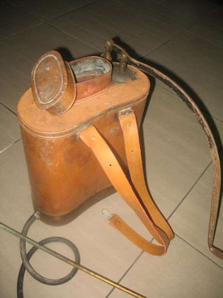 Sulfatador antigo em cobre em excelente estado