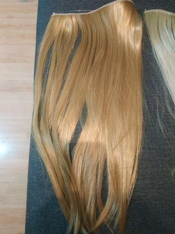 włosy na gumce 55 cm długie