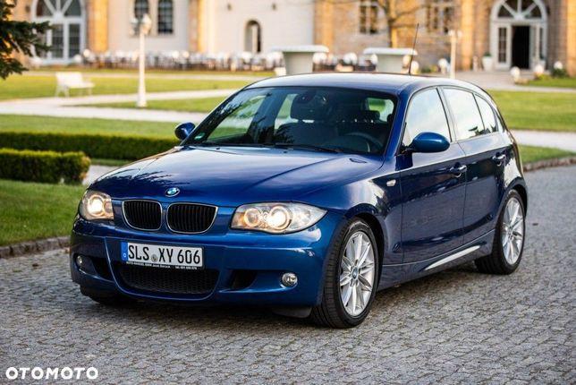 BMW Seria 1 BMW 118i lift m pakiet la mans blau met ideał stan piękna