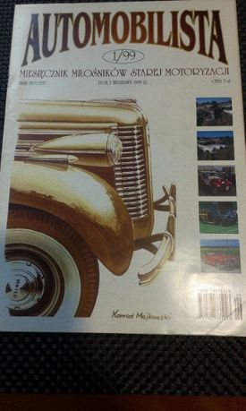 Automobilista miesięcznik nr 5, 71, 99.