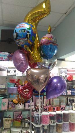 """магазин """"СИЛУЭТ"""" Гелиевые воздушные шарики. Фольгированые шары, цифры"""