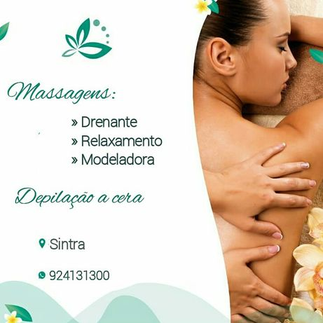 Massagens e depilação