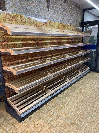 Regał do pieczywa regał piekarniczy 100cm, półki drewniane