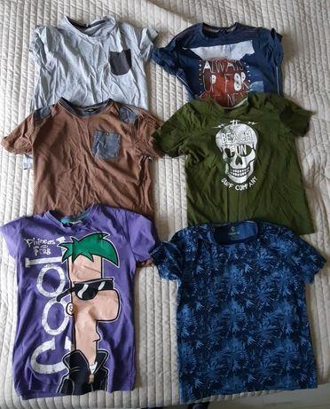 Komplet t-shirt koszulki 146