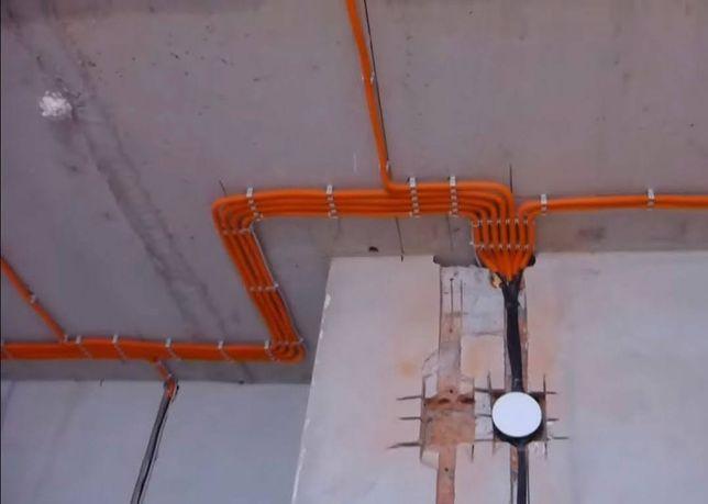 Послуги елекрика(електромонтажні роботи)