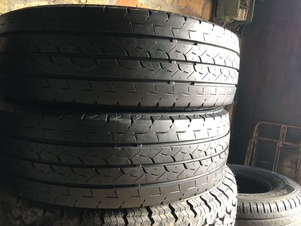 R16C 205/65 Bridgestone Duravis R660 резина шины бу летние 17года