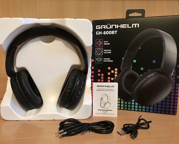Беспроводные Bluetooth наушники Grünhelm новые Киев