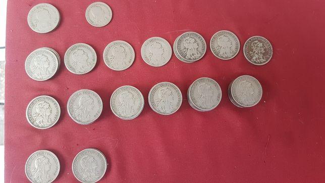 Moedas 1 escudo antigas