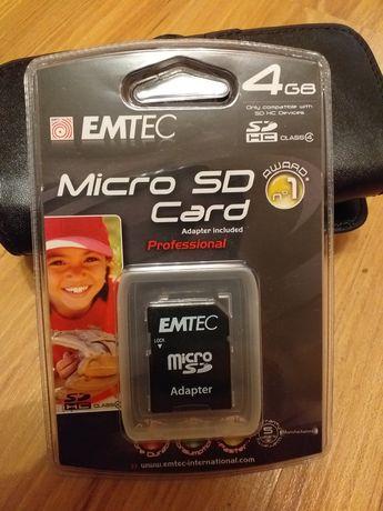 Karta pamięci microSD 4gb emtec