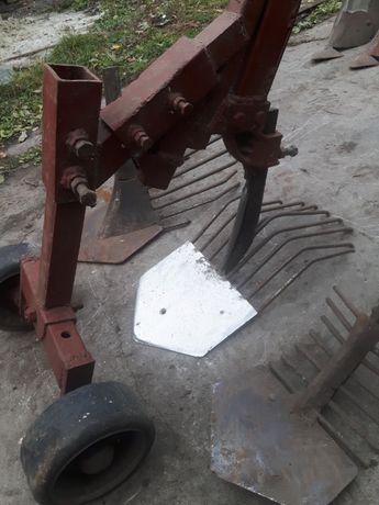 картофелекопалка лапы дисковые борони крестовина вали шкиви