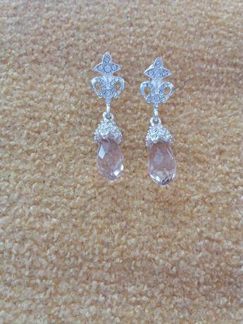 Сережки женские в серебре