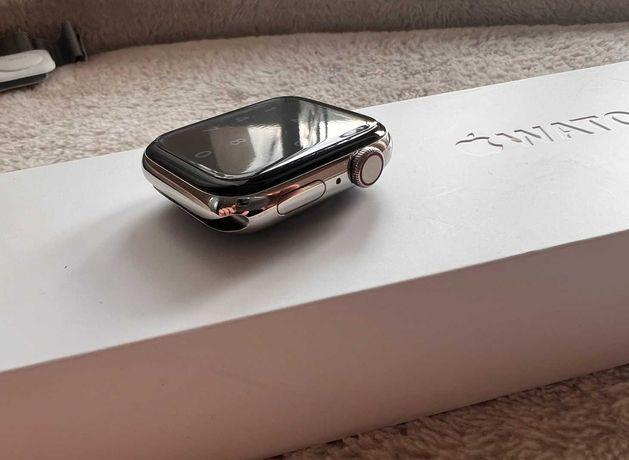 Apple Watch 6 44mm stainless steel, stal, stalowy, gwarancja