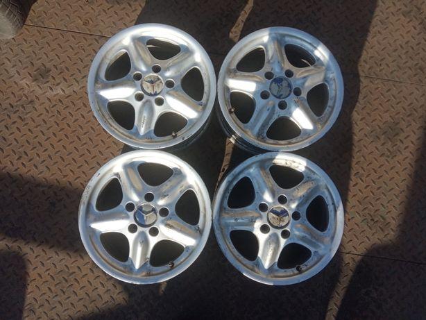 Felgi Aluminiowe Alusy Alufelgi 5x112 6 1/2 J x 15 ET44 Mercedes Ronal
