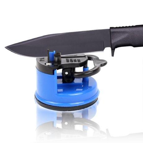 Точилка Ножей Ginza Micro Sharpen на присоске + полотенце микрофибра