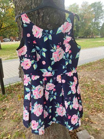 Sukienka Sinsay kwiaty