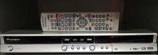 Nagrywarka HDD 160GB Pioneer DVR-530H +pilot Pruszcz Gdański