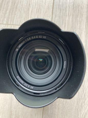 Obiektyw AF-S DX NIKKOR 18-140mm f/3.5-5.6 ED VR