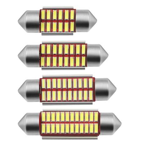 Żarówka RURKOWA 31mm 36mm 39mm 41mm RURKA SMD CSP 1860 LED C5W C10W
