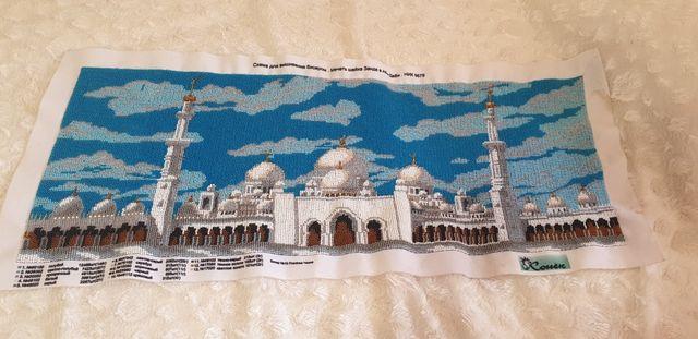 Вышивка чешскими бисером Мечеть