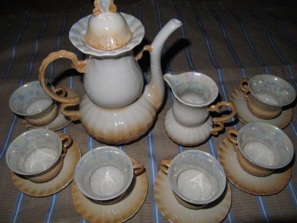кофейный сервиз перламутровый ссср, кавовий сервіз