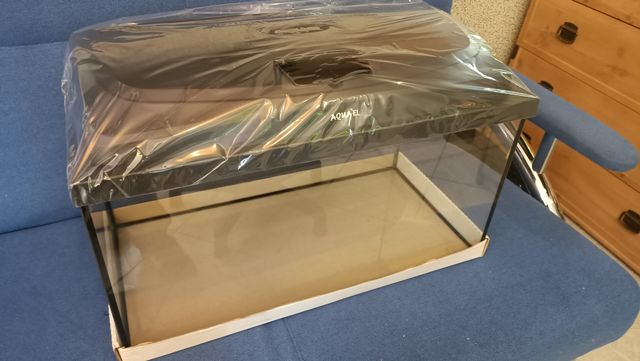 Akwarium z pokrywą LED Aquael NOWE 54 litry