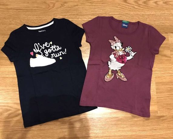T-shirts Gap Kids e Disney Benetton