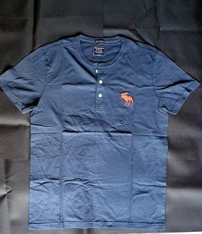 Abercrombie & fitch t-shirt L męski koszulka