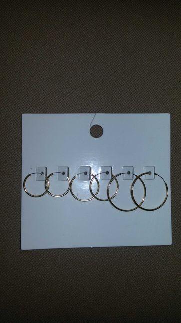 Kolczyki H&M nowe