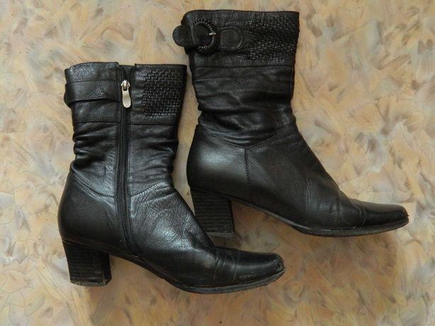 Обувь женская б/у сабо, сапоги, сапожки демисезонные бесплатно