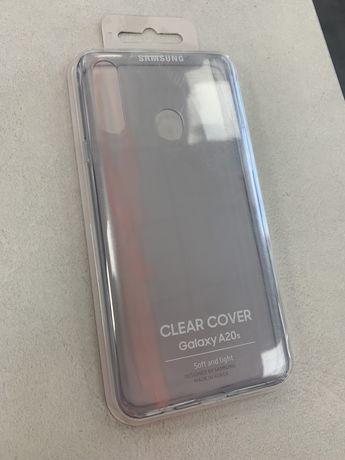 Samsung A20S (оригинальный силиконовый чехол)
