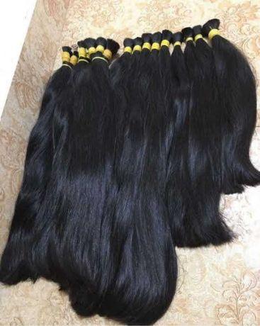 Волосы натуральные для наращивания в срезах до 85 см