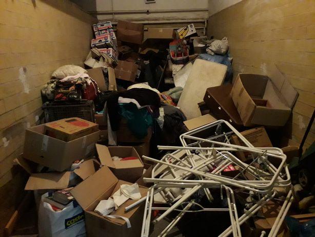 Wywóz likwidacja opróżnianie sprzątanie mieszkań domów śmieci mebli