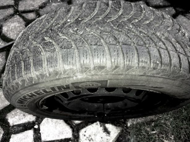 Felgi R 15 SKODA Oktavia-3szt. + Opony zimowe Michelin Alpin5 -4szt.