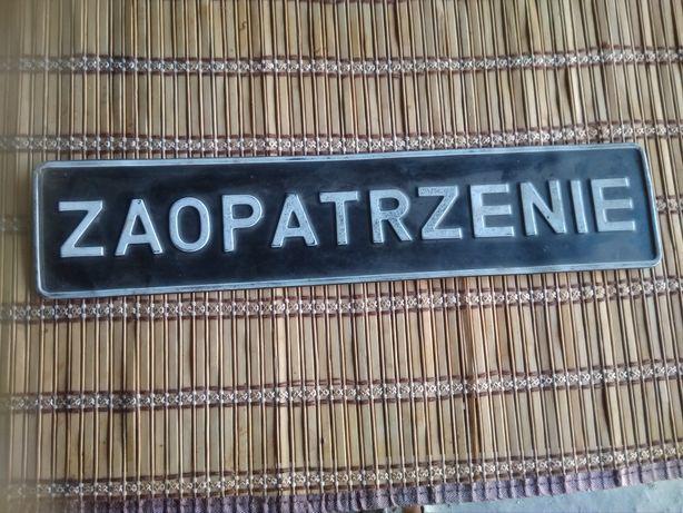 Номерной знак польский