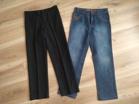 Джинсы брюки на мальчика рост 140-150см в школу