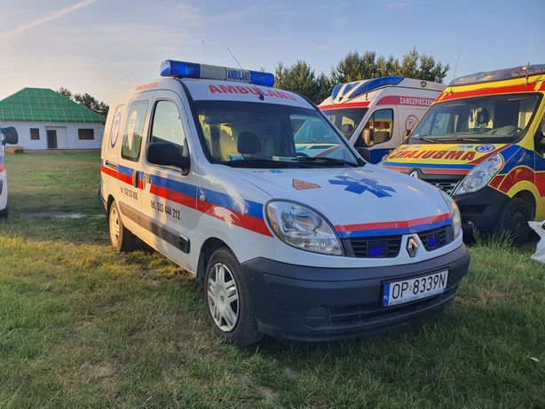 Ambulans Kangoo karetka