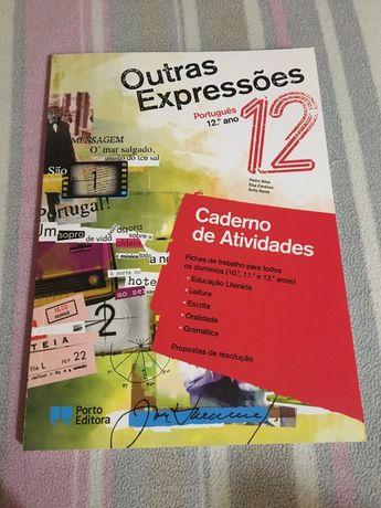 """Caderno de atividades """"Outras Expressões"""" 12° ano"""