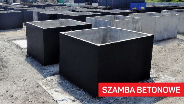 szambo betonowe zbiornik betonowy Zbiorniki na ścieki