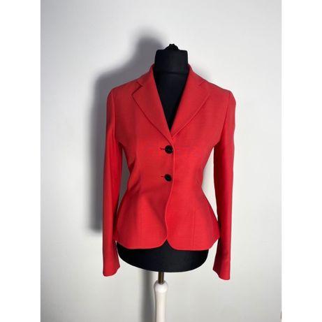 Пиджак Christian Dior  красный шерсть шелк